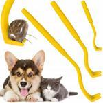 Kleszczołapki szczypce haczyki do usuwania wyciągania kleszczy 3 rozmiary dla ludzi i zwierząt w sklepie internetowym Xsonic.pl