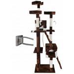 Domek legowisko PETHOUS drapak dla kota wysokość 170 cm beżowy w sklepie internetowym Xsonic.pl