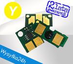 Chip do HP 4600 / 4650 / C9722A - Yellow Chip zliczający w sklepie internetowym toner-hurt