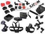 Akcesoria, zestaw do kamer sportowych SJCAM SJ4000 w sklepie internetowym Sklep autoradia.pl
