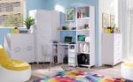 Komplet mebli Pokoj młodzieżowy biały Maximus w sklepie internetowym meble-bik.pl