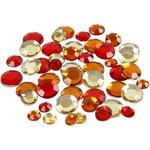 Dekoracyjne kryształki okrągłe - mix III - MIXIII w sklepie internetowym CreativeHobby.pl