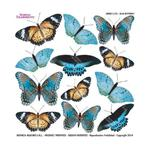 Termofolia do Sospeso - Blue butterfly - NMI w sklepie internetowym CreativeHobby.pl