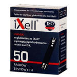 Paski do glukometru iXell 50szt. firmy Genexo w sklepie internetowym RedMed.pl