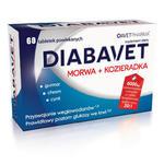 Diabavet Morwa Plus Kozieradka - 60 tabletek - nasiona kozieradki, morwa biała, liście gurmaru, chrom, cynk w sklepie internetowym RedMed.pl