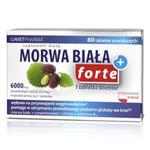 Morwa Biała Plus Forte - 60 tabletek - ekstrakty z morwy białej i cynamonowca, chrom, witamina B12 w sklepie internetowym RedMed.pl