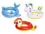 Kółko dla dzieci do pływania sympatyczna płaszczka, krab lub żabka w sklepie internetowym Baseny-dmuchane.pl