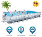 Ogromny basen ogrodowy do pływania 956 x 488 x 132 cm 4w1 Bestway 56479 w sklepie internetowym Baseny-polska.pl