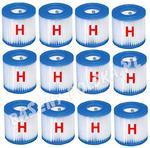 12 x wkład karton do pompy filtrującej H INTEX 29007 filtr 1249 litrów w sklepie internetowym Baseny-polska.pl