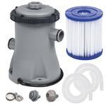 Pompa filtrująca z filtrem do basenów 1249L/h Bestway 58381 w sklepie internetowym Baseny-polska.pl