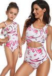 Jednoczęściowy strój mama i córka w syrenki , basen, plaża w sklepie internetowym Lejdi.pl