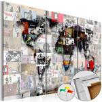 Obraz na korku - Mapa nowoczesnego świata [Mapa korkowa] w sklepie internetowym Radimar
