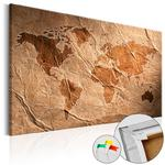 Obraz na korku - Papierowa mapa [Mapa korkowa] w sklepie internetowym Radimar