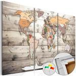 Obraz na korku - Historia podróży [Mapa korkowa] w sklepie internetowym Radimar