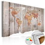 Obraz na korku - Drewniane historie [Mapa korkowa] w sklepie internetowym Radimar
