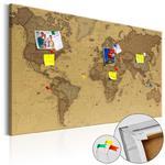 Obraz na korku - Starożytna mapa świata [Mapa korkowa] w sklepie internetowym Radimar