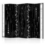 Parawan 5-częściowy - Czarna elegancja II [Room Dividers] w sklepie internetowym Radimar