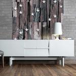 Fototapeta - Gwiazdki na drewnie w sklepie internetowym Radimar