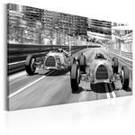Obraz - Stare samochody wyścigowe w sklepie internetowym Radimar
