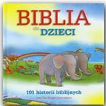 BIBLIA DLA DZIECI 101 HISTORII BIBLIJNYCH w sklepie internetowym Coolshop.pl