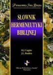SŁOWNIK HERMENEUTYKI BIBLIJNEJ w sklepie internetowym Coolshop.pl