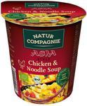 Danie w kubku Zupa z kurczakiem i makaronem w stylu azjatyckim BIO 50g Natur Compagnie w sklepie internetowym Ekolandia24