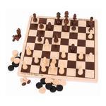 Zestaw gier - drewniane Szachy i Warcaby w sklepie internetowym fifishop