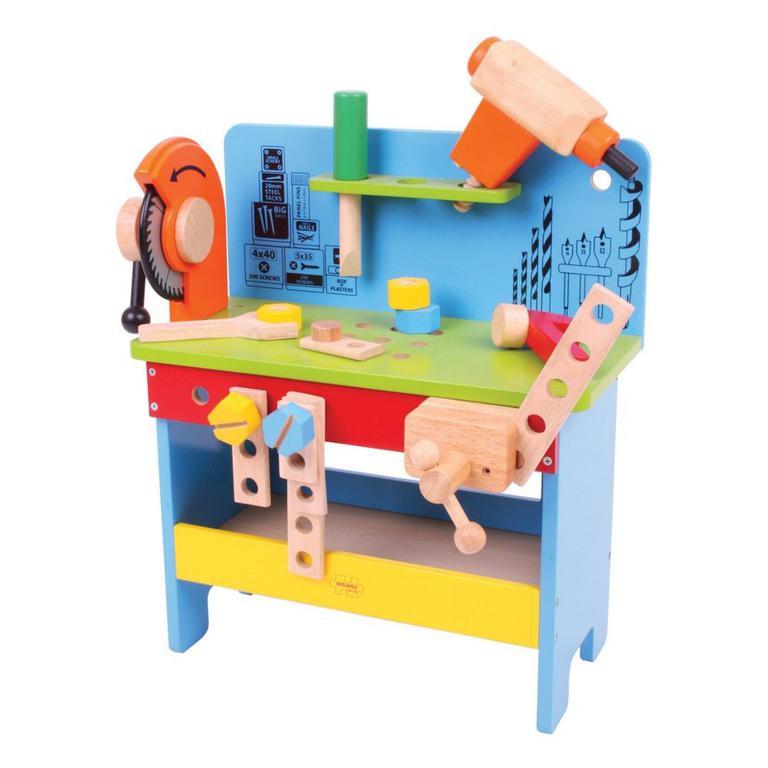 31819326e70434 Drewniany warsztat majsterkowicza z narzędziami w sklepie internetowym  fifishop. Powiększ zdjęcie