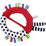 Szeleszczące lusterko z metkami dla niemowlaka czerwone HENCZ w sklepie internetowym fifishop