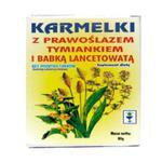 Karmelki z prawoślazem, tymiankiem i babką 80g w sklepie internetowym StraganZdrowia.pl
