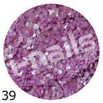 Muszla kruszona w pojemniku mu39 fiolet różowy w sklepie internetowym Dobrarada.com.pl