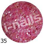 Muszla kruszona w pojemniku mu35 róż chłodny w sklepie internetowym Dobrarada.com.pl