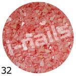 Muszla kruszona w pojemniku mu32 bardzo jasno czerwona w sklepie internetowym Dobrarada.com.pl