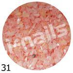 Muszla kruszona w pojemniku mu31 jasno różowa w sklepie internetowym Dobrarada.com.pl
