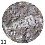Muszla kruszona w pojemniku mu11 biało stalowa w sklepie internetowym Dobrarada.com.pl