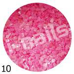 Muszla kruszona w pojemniku mu10 intensywny róż w sklepie internetowym Dobrarada.com.pl