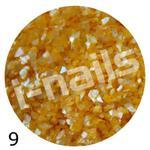 Muszla kruszona w pojemniku mu09 j.pomarańcz w sklepie internetowym Dobrarada.com.pl