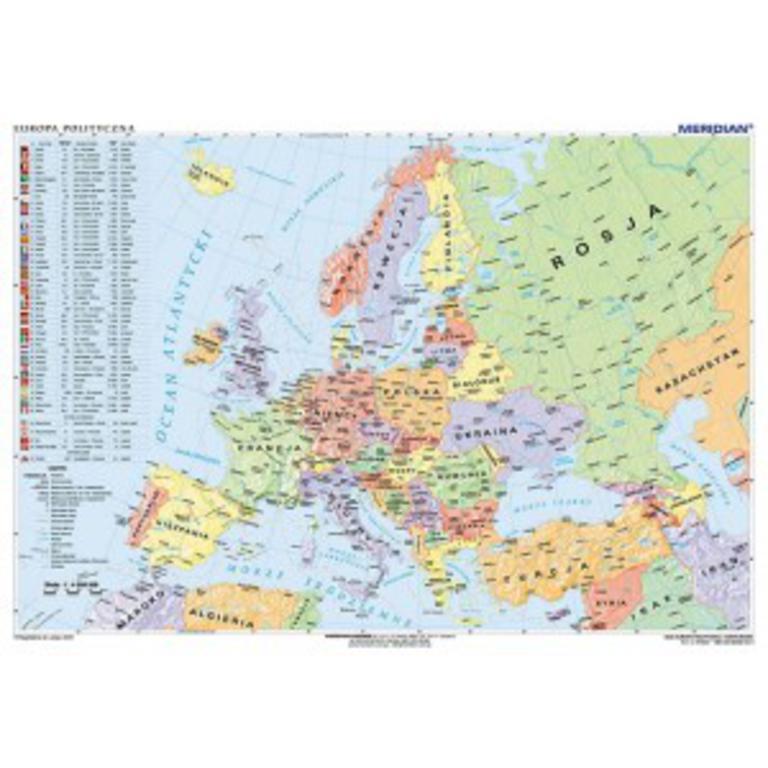 Mapy Scienne Europa Mapa Najtansze Sklepy Internetowe