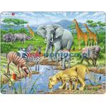 Afrykańska sawanna - maxi puzzle w sklepie internetowym edupomoce.pl