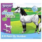 Koń do malowania Dappled Grey Pony 3D - BREYER w sklepie internetowym Konik.com.pl