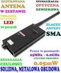 Profesjonalny Cyfrowy Wykrywacz Podsłuchów, Kamer, GSM, Lokalizatorów GPS... w sklepie internetowym 24a-z.pl