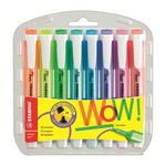 Zakreślacz Stabilo SWING COOL zestaw 8 kolorów kieszonkowy w sklepie internetowym segato