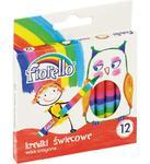 Kredki świecowe woskowe FIORELLO GRAND 12 Kolorów w sklepie internetowym segato