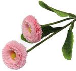 K201 Stokrotka podwójna gałązka lt.pink Sztuczne kwiaty - STOKROTKA w sklepie internetowym MyFlowers.pl