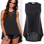 Letni TOP T-shirt P459 w sklepie internetowym Royalline.pl