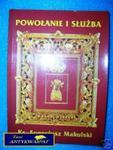 POWOŁANIE I SŁUŻBA - ks.E. Makulski w sklepie internetowym Wieszcz.pl