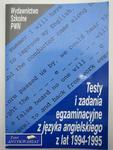 TESTY I ZADANIA Z JĘZYKA POLSKIEGO 1994-1995 w sklepie internetowym Wieszcz.pl