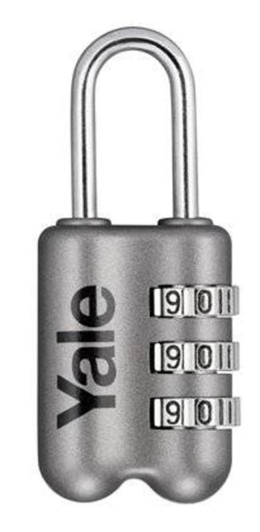 b944f1d72cf09 Kłódka szyfrowa Yale podróżna YP2-23 szara w sklepie internetowym  Karolewscy.pl. Powiększ zdjęcie