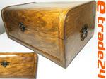 Drewniany Stylowy Zdobiony KUFER Skrzynia 44x31x21cm w sklepie internetowym e-trade24.pl