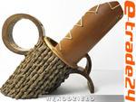 Bambusowy Drewniany STOJAK na WINO 34cm - Rękodzieło w sklepie internetowym e-trade24.pl